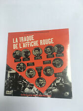 DVD LA TRAQUE DE L'AFFICHE ROUGE JORGE AMAT DENIS PESCHANSKI L'HUMANITE