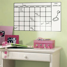 Removable Office White Board Vinyl Wall Sticker Decal Dry Erase Blank Board New