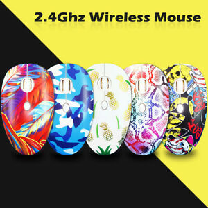 USB Wireless Stylish Mouse DPI Adjustable Optical Computer OptoElectronic Gaming
