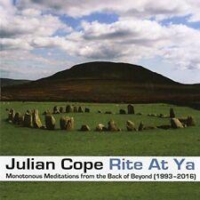 Julian Cope - Rite At Ya (NEW CD)