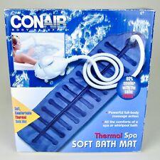NEW! CONAIR Powerful Thermal Spa Soft Bath Mat MBTS2N- Air Bubbles Massage Heat!