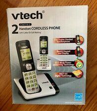 Vtech 2 Handset Cordless Phone System w/ Caller Id Speakerphone CS6719-2 ~ EUC
