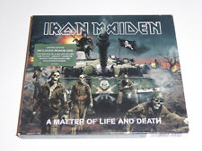 Iron Maiden - A Matter Of Life And Death - 2-Disc Limited Edition CD + DVD SET