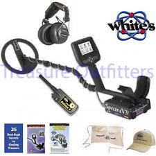Whites Spectra V3i Metal Detector w/Wireless Hdst Free Bullseye II, Hat, Apron