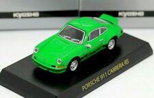Kyosho 1/64 Porsche Collection 1 Porsche 911 Carrera RS 1972 Green