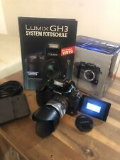 Panasonic LUMIX DMC-GH3 16.0 MP MFT Systemkamera Inklusive Objektiv
