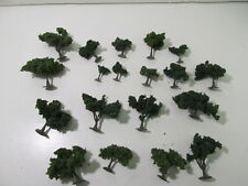 Vintage Scenic Products Green Model Trees Set Of 19 HO Gauge Scale tr1564