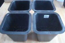 SET OF 4 BED FRAME RISER LIFTER BLACK PLASTIC IKEA DISPLAY MODEL 6 INCH