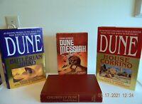 Herbert Dune Hardcover Lot 4 1st BCE- Messiah + Children  1st Ed-Jihad + Corrino
