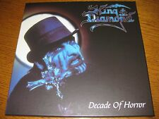 King Diamond-Decade of horror ltd. 4-PictureDisc-Box,Massacre Germany 2001,neu!