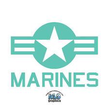 MARINES USA ROUNDEL Sticker Decal USA National Star Pilot Groundcrew