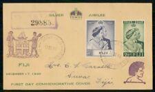 Mayfairstamps Fiji 1948 5 Shilling Silver Jubilee Suva wwh26453