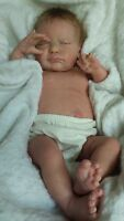 QUEEN'S CRIB OOAK  REBORN BABY GIRL DOLL PRINCESS SERENITY ! with umbilical cord
