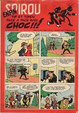 "BANDE DESSINEE "" SPIROU "" N°  928  DE  JANVIER   1956"