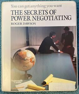 Secrets Of WIN WIN Power Negotiating by Roger Dawson Cassette Audiobook Program