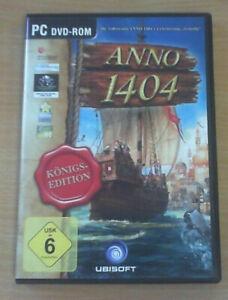 Anno 1404 - Königs-Edition (PC DVD-ROM, ab Windows XP/ Vista/ 7) GUTER ZUSTAND