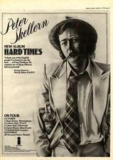 PETER SKELLERN Hard Times Tour UK Poster size Press ADVERT 16x12 inches