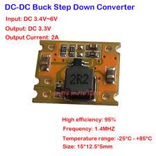 2A Mini Micro Step-Down Module DC-DC 3.4V-6V to 3.3V Power Supply Buck Converter