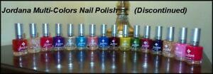 NEW JORDANA Salon Shinny/Matte/Glitter Nail Polish (DISCONTINUED)  YOU CHOOSE