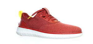 Cole Haan Mens Generation Zerogrand Red Dahlia Knit Oxford Dress Shoe Size 9.5