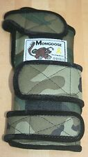 "Mongoose ""Equalizer"" Bowling Wrist Band Support, MREC, Right Hand, Medium, Camo"