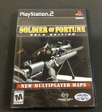 Soldier of Fortune: Gold Edition  (Sony PlayStation 2, 2001)