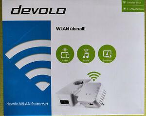 DEVOLO dLAN 500 / WiFi 550 Starter Kit Powerline Adapter mit WLAN und MESH