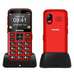 UNIWA (4G) Big Button SOS GSM Unlocked Cell Phone For Seniors