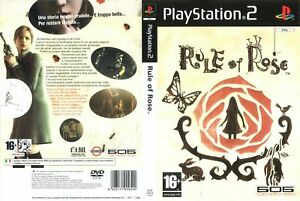 - Rule Of Rose PS2 Italian Version - DVD Box Case + Cover Art Work Only