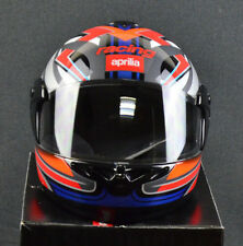 New Genuine Aprilia Helmet GP3 Blue Magneto AP8796306