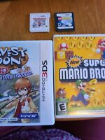 Nintendo 3ds and Nintendo ds games