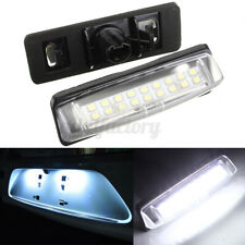 Pair 18 LED Number License Plate Light For LEXUS IS200 IS300 GS300 GS430 Toyota