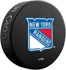 New York Rangers Official NHL Logo Souvenir Hockey Puck