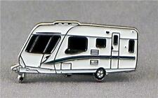 Metal Enamel Pin Badge Brooch Caravan Camping Rally Club
