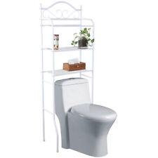 Cestas, estantes y bandejas de baño color principal blanco