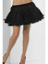 Black Petticoat Ladies Underskirt Tutu Fancy Dress Accessory