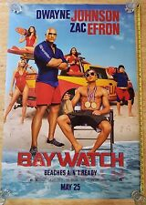 BAYWATCH  UNUSED ORIGINAL AUTHENTIC DS Theater 27x40 Movie Poster MINT