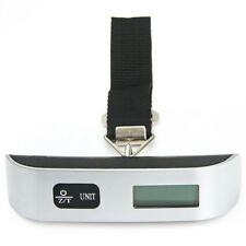 Digital Hanging Luggage Pocket Weight Electronic Scale Hook Weigh in Hand 50kg