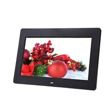 10.1 LCD HD Electronic Digital Photo Frame Picture Photography MP4 Player BLK BT