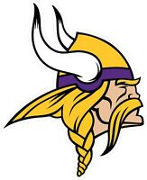 Minnesota Vikings Decal ~ Car / Truck Vinyl Sticker - Wall Graphics, Cornholes