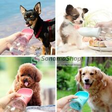 Botella o Dispensador de Agua Portátil Para Perros o Gatos  Mascotas Paseo Viaje