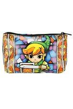 The Legend Of Zelda Link Stained Glass Makeup Cosmetic Bag New With Tags!