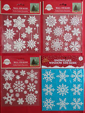 Selection of Window or Wall Snowflake Stickers (Select No 1, 2, 3 or 4)