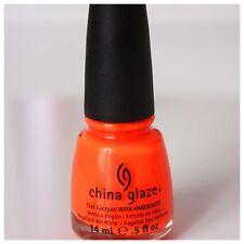 China Glaze Orange Knockout Nail Varnish **PERFECT FOR CHRISTMAS!!**14ml bottle
