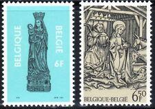 SELLOS NAVIDAD BELGICA 1979/81 1959+2029 2v.