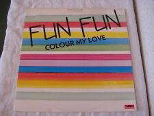 Vinyle Maxi 45 trs  FUN FUN Colour my love