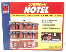 Life Like Train N Scale Railroad Structure  - Downtown Hotel #7482