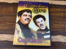 Comedias de Oro 3 Peliculas Capulina Vol III DVD Dos Locos en Escena Excellent