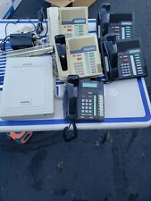 Nortel Norstar 3x8 phone system NT5B05CN-93 with 5 phones