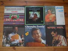 LP Sammlung 7 x Gheorghe Zamfir 3 Ciocirlia A Paris Vol. 2 & Seine Solisten Si